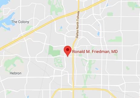 Ronald M Friedman Office Location