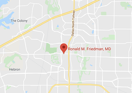 Ronald M Friedman Office Location