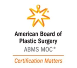 American Board of Plastic Surgery guarantees knowledge and skill.